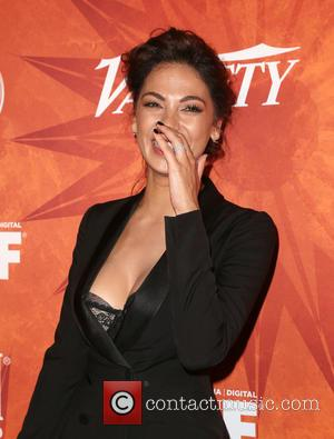 Moran Atias - Variety and Women in Film Pre-Emmy Celebration Party sponsored by Mercedes-Benz and Fiji Water at Gracias Madre...