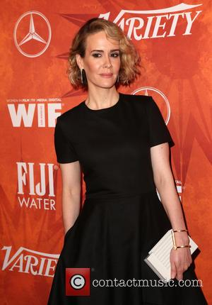 Sarah Paulson - Variety and Women in Film Pre-Emmy Celebration Party sponsored by Mercedes-Benz and Fiji Water at Gracias Madre...