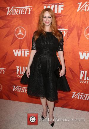 Christina Hendricks - Variety and Women in Film Pre-Emmy Celebration Party sponsored by Mercedes-Benz and Fiji Water at Gracias Madre...