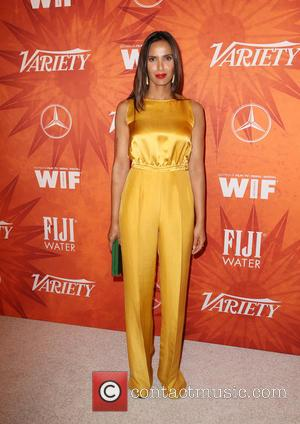 Padma Lakshmi - Variety and Women in Film Pre-Emmy Celebration Party sponsored by Mercedes-Benz and Fiji Water at Gracias Madre...