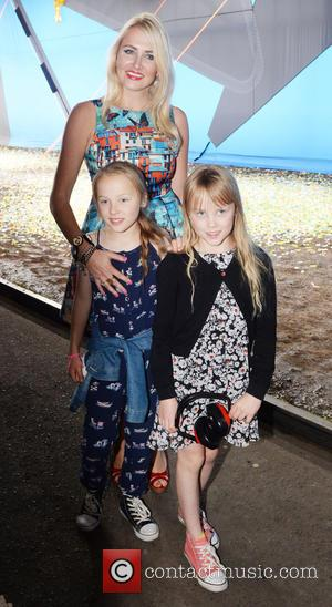 Nancy Sorrell - London Fashion Week Spring/Summer 2016 - Hunter - Arrivals at London Fashion Week - London, United Kingdom...