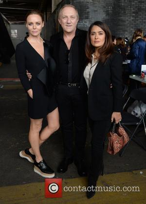 Stella McCartney and Salma Hayek