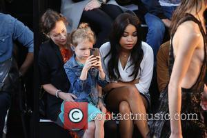 Leah Wood , Maggie Macdonald - London Fashion Week Spring/Summer 2016 - Julien Macdonald - Front Row at London Fashion...