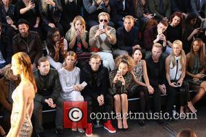 Professor Green, Millie Mackintosh, Ella Eyre, Lewi Morgan, Ronan Keating, Storm Uechtritz, Rochelle Humes , Andrea Corr - London Fashion...