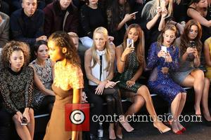 Ella Eyre, Storm Uechtritz, Rochelle Humes, Andrea Corr, Rosie Fortescue , Binky Felstead - London Fashion Week Spring/Summer 2016 -...