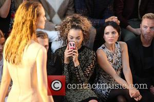 Ella Eyre , Andrea Corr - London Fashion Week Spring/Summer 2016 - Julien Macdonald - Front Row at London Fashion...
