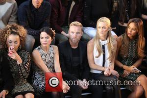 Ella Eyre, Ronan Keating, Storm Uechtritz, Rochelle Humes , Andrea Corr - London Fashion Week Spring/Summer 2016 - Julien Macdonald...