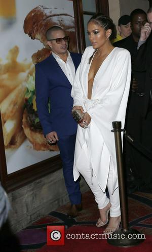 Jennifer Lopez , Casper Smart - Jennifer Lopez celebrates her Las Vegas Residency at Chateau Nightclub & Rooftop at Paris...