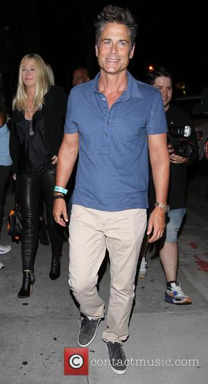 Rob Lowe - Rob Lowe arrives at Craig's restaurant in West Hollywood - Los Angeles, California, United States - Saturday...