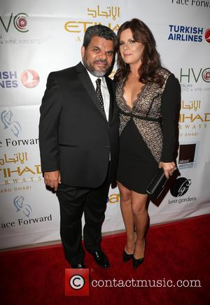 Luis Guzman , Marcia Gay Harden - Face Forward's 6th Annual 'Moulin Rouge' Inspired Gala - Arrivals at Millennium Biltmore...