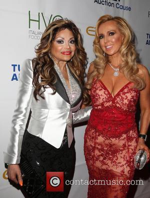 La Toya Jackson and Deborah Alessi