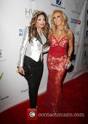 La Toya Jackson , Deborah Alessi - Face Forward's 6th Annual 'Moulin Rouge' Inspired Gala - Arrivals at Millennium Biltmore...