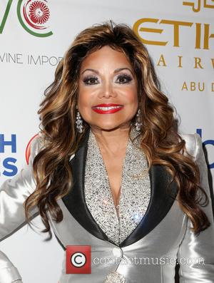 La Toya Jackson - Face Forward's 6th Annual 'Moulin Rouge' Inspired Gala - Arrivals at Millennium Biltmore Hotel - Los...