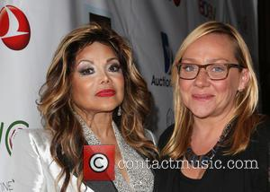 La Toya Jackson and Nicole Sullivan