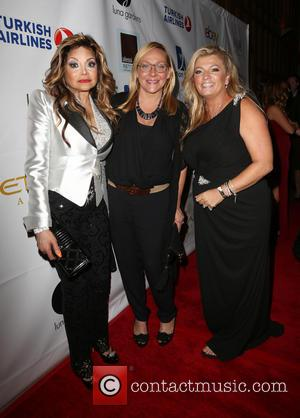 La Toya Jackson, Nicole Sullivan and Juliette Harris