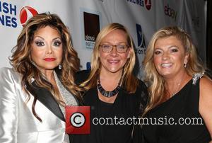 La Toya Jackson, Nicole Sullivan and Juliette Harris