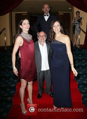 Emmanuelle Vaugier, Richard Howland, Sean Taub , Anna Silk - Face Forward's 6th Annual 'Moulin Rouge' Iinspired Gala - Inside...