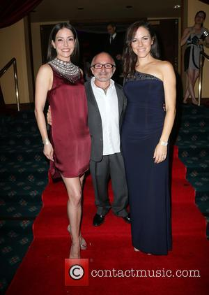 Emmanuelle Vaugier, Richard Howland , Anna Silk - Face Forward's 6th Annual 'Moulin Rouge' Iinspired Gala - Inside at Millennium...