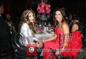 La Toya Jackson , Lu Parker - Face Forward's 6th Annual 'Moulin Rouge' Iinspired Gala - Inside at Millennium Biltmore...