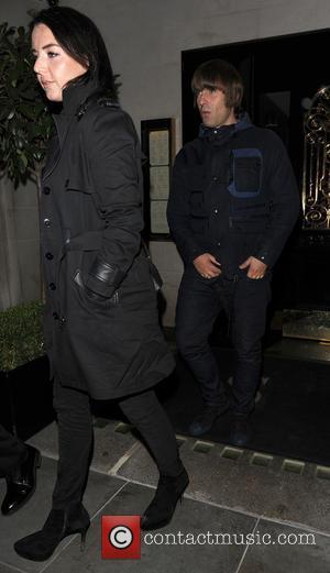 Debbie Gwyther and Liam Gallagher