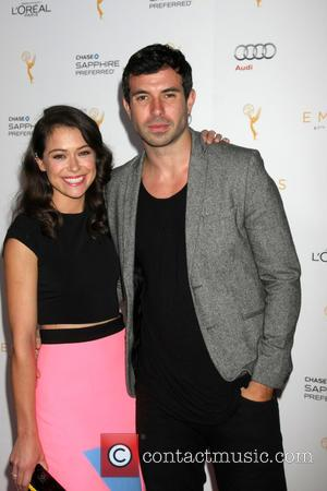 Tatiana Maslany , Tom Cullen - Emmy Performer Nominess Reception 2015 at Pacific Design Center - West Hollywood, California, United...