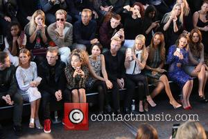 Millie Mackintosh, Ronan Keating, Storm Uechtritz, Rochelle Humes, Rosie Fortescue , Andrea Corr - London Fashion Week Spring/Summer 2016 -...