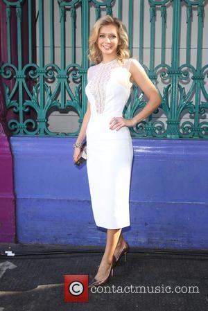 Rachel Riley - London Fashion Week Spring/Summer 2016 - Julien Macdonald - Front Row at London Fashion Week - London,...