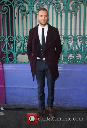 Calum Best - London Fashion Week Spring/Summer 2016 - Julien Macdonald - Front Row at London Fashion Week - London,...