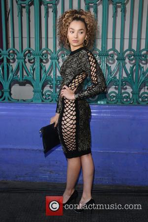 Ella Eyre - London Fashion Week Spring/Summer 2016 - Julien Macdonald - Front Row at London Fashion Week - London,...