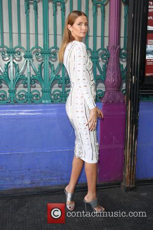 Millie Mackintosh - London Fashion Week Spring/Summer 2016 - Julien Macdonald - Front Row at London Fashion Week - London,...
