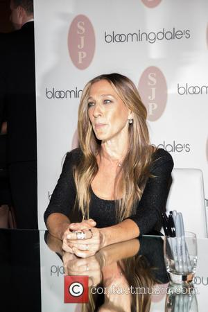 Sarah Jessica Parker - Sarah Jessica Parker promotes her latest line of 'SJP by Sarah Jessica Parker' shoes for Bloomingdale's...
