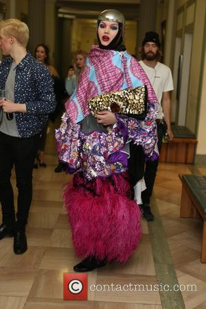 Daniel Lismore - London Fashion Week Spring/Summer 2016 - Sorapol - Front Row and Inside at The Royal College of...