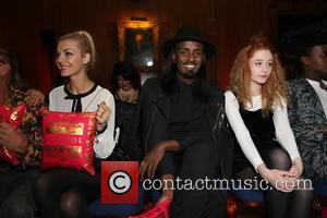 Mason Smillie , Janet Devlin - London Fashion Week Spring/Summer 2016 - Sorapol - Front Row and Inside at The...