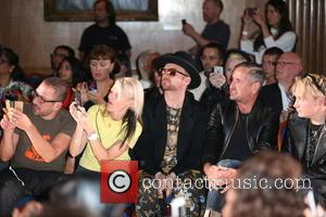 Boy George, Fat Tony , Marylin - London Fashion Week Spring/Summer 2016 - Sorapol - Front Row and Inside at...