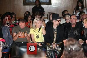 Boy George , Fat Tony - London Fashion Week Spring/Summer 2016 - Sorapol - Front Row and Inside at The...