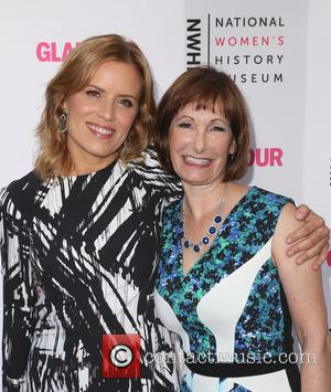 Kim Dickens and Gale Anne Hurd