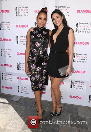 Dania Ramirez and Edy Ganem