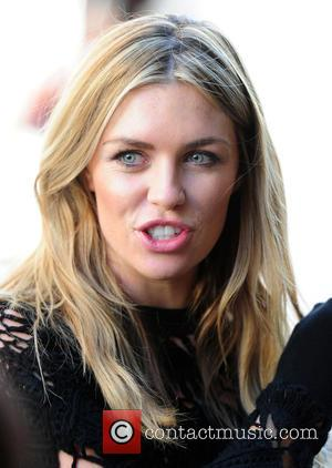 Abbey Clancy - Abbey Clancy filming while in Soho, central London at Soho - London, United Kingdom - Sunday 20th...