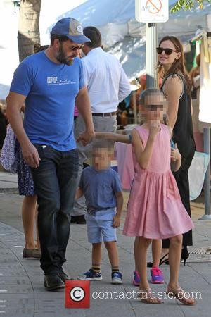 Ben Affleck, Jennifer Garner, Violet Affleck and Samuel Garner Affleck