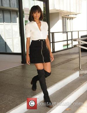Ciara - LFW Spring/Summer 2016 - Topshop Unique - Departures - London, United Kingdom - Sunday 20th September 2015