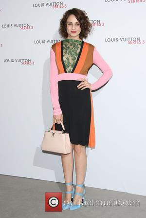 Tuppence Middleton - London Fashion Week - Louis Vuitton series 3 Exhibition Launch Party - Arrivals at London Fashion Week...