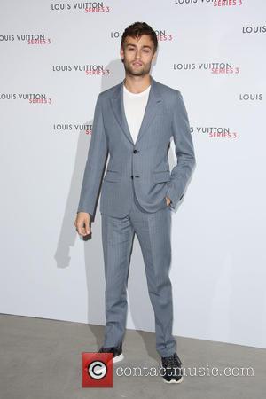 Douglas Booth - London Fashion Week - Louis Vuitton series 3 Exhibition Launch Party - Arrivals at London Fashion Week...