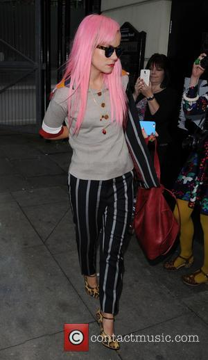 Lily Allen - Lily Allen attends Vivienne Westwood Fashion Launch as part of London Fashion Week at London Fashion Week...