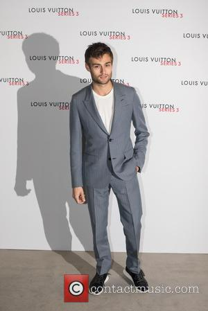 Douglas Booth - LFW s/s: Louis Vuitton series 3 gala opening held at 180 Strant - Arrivals. - London, United...
