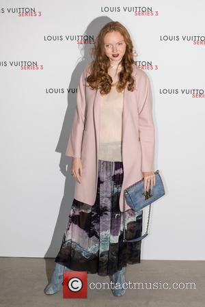 Lily Cole - LFW s/s: Louis Vuitton series 3 gala opening held at 180 Strant - Arrivals. - London, United...