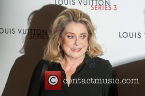 Catherine Deneuve - LFW s/s: Louis Vuitton series 3 gala opening held at 180 Strant - Arrivals. - London, United...