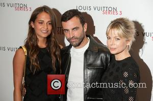 Alicia Vikander, Michelle Williams , Nicolas Ghesquiere - LFW s/s: Louis Vuitton series 3 gala opening held at 180 Strant...