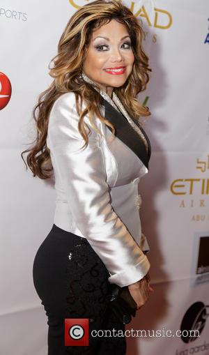 La Toya Jackson - Face Forward's 6th Annual Moulin Rouge inspired Gala - Arrivals at Millennium Biltmore Hotel - Los...