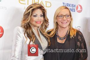 La Toya Jackson , Nicole Sullivan - Face Forward's 6th Annual Moulin Rouge inspired Gala - Arrivals at Millennium Biltmore...