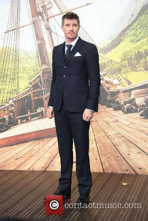 Garrett Hedlund - Pan World Premiere held at Leicester Square - Arrivals - London, United Kingdom - Sunday 20th September...